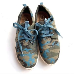 NWOT Toms Del Ray Sneakers Camo Print 7